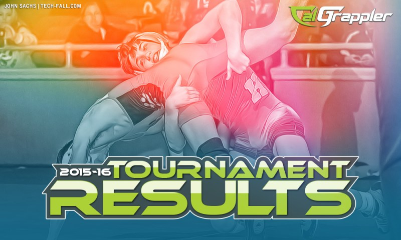 California Wrestling Tournament Results 2016
