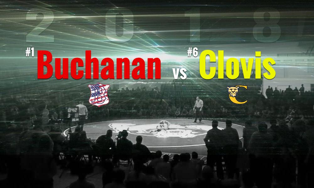 2018 Clovis vs Buchanan Wrestling Dual