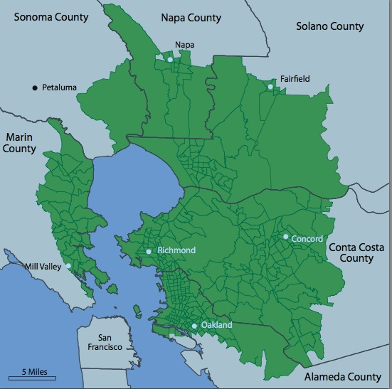 Elevated rates of invasive cancer in Bay Area cities ... on california cancer statistics, cancer rates by state map, michigan quality soils map,