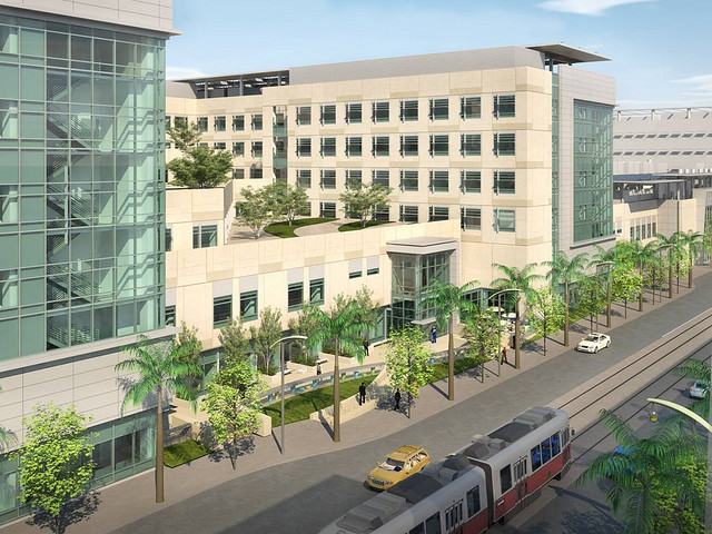 A rendering of UCSF-Mission Bay.