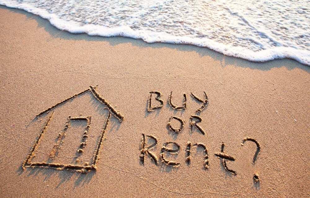 Buyers beware, renting makes more financial sense