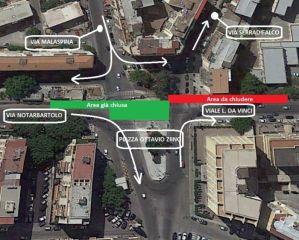 Planimetria Ziino- Serradifalco tram palermo