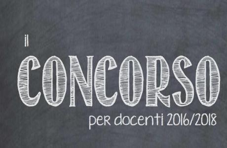 concorso scuola sicilia 2016