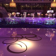 Your Wedding Chair Covers Woven Lounge Dance Floor Decals