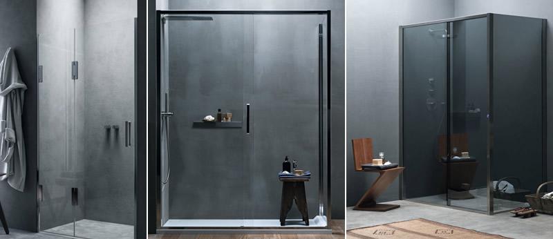 Soluzioni di bagno con Box doccia su misura Calibe