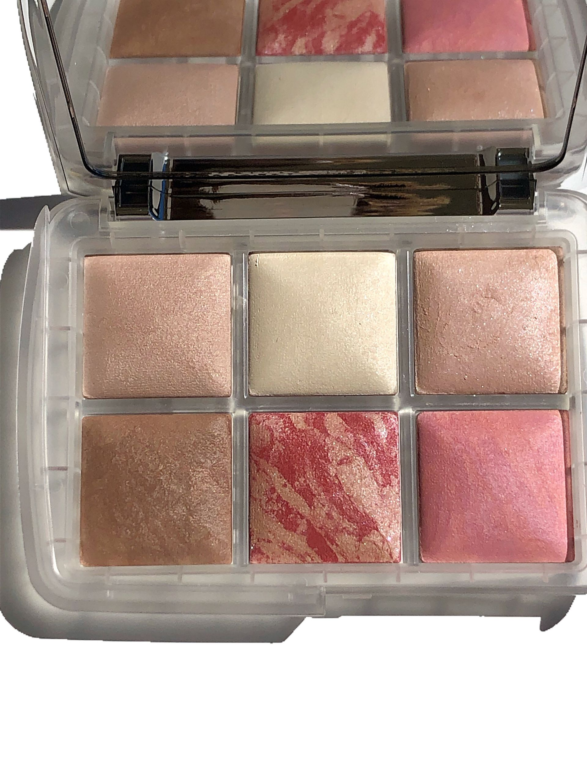 hourglass ambient lighting ghost palette cali beaute