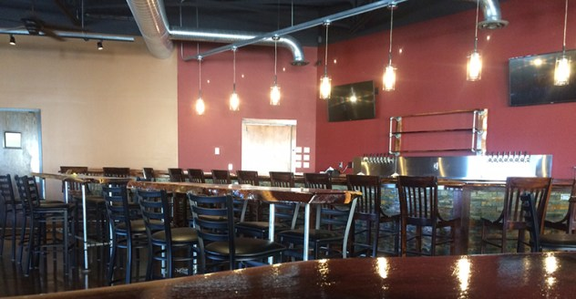 Large inside seating in Kansas city MO Calibration brewery