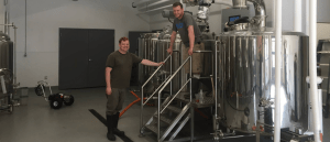 the guys up to no good at calibration brewery