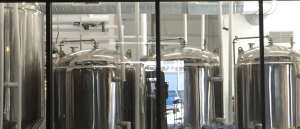 micro brew equipment at calibration brewery