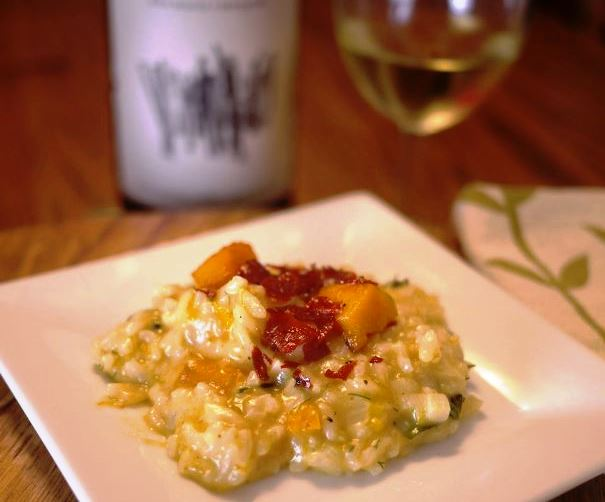 Cooking with Wine: Winter Squash Chardonnay Risotto Recipe