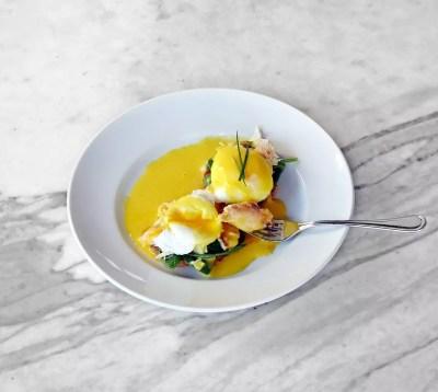 Crab Eggs Benedict Middle