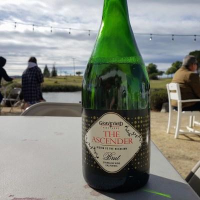 Graveyard Vineyards Sparkling Wine - local champagne