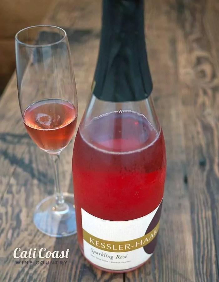 Kessler-Haak Santa Barbara sparkling wine