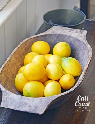 Meyer Lemons at The Stonehouse at San Ysidro Ranch in Montecito