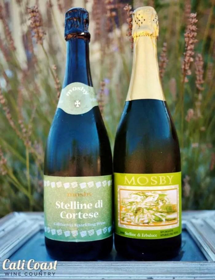 Mosby Santa Barbara sparkling wine