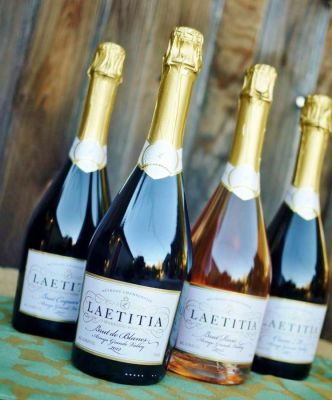 Laetitia Vineyard Sparkling Wine in San Luis Obispo County