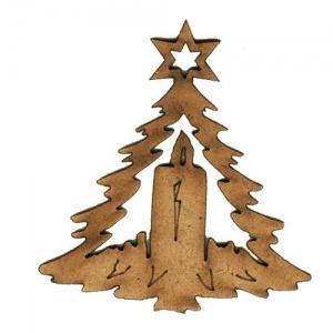 christmas tree ornament mdf
