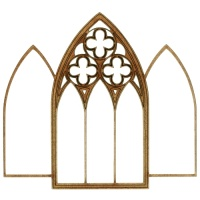 Ironmongery Fences And Gate Wood Shapes For Arts And Crafts
