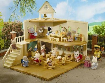 Sylvanian Berry Grove School - Populated