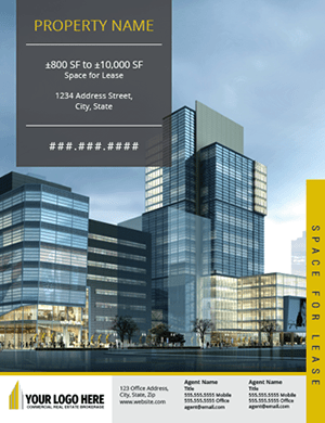 Listing Brochure Template Commercial Real Estate