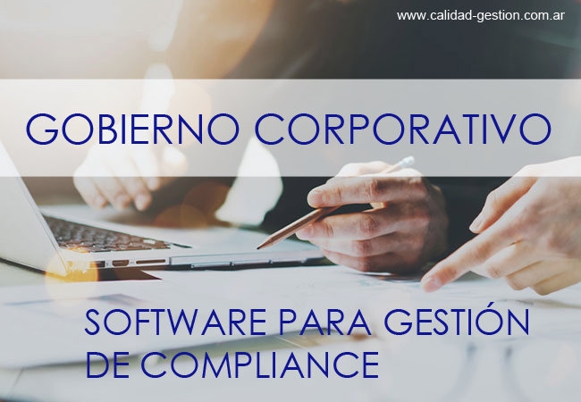 SOFTWARE PARA GESTION DE COMPLIANCE