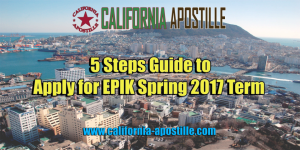 Apply for EPIK Spring 2017 Term