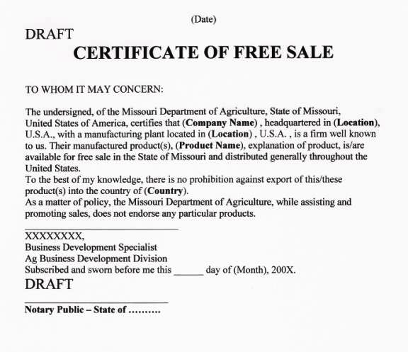 Step By Step Guide To Apostille Your Certificate Of Free Sale