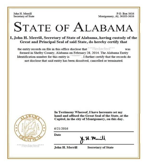 The ultimate guide for apostille free ebook certificate of incorporation alabama fandeluxe Gallery