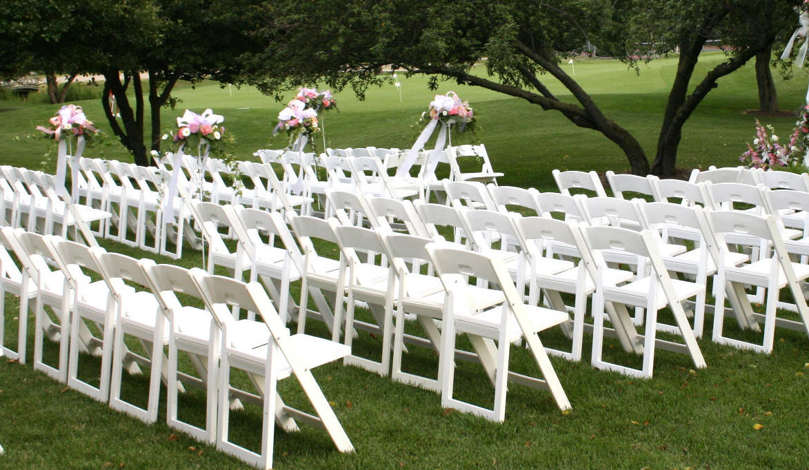 White Resin Folding Chairs Padded Discount Prices Resin