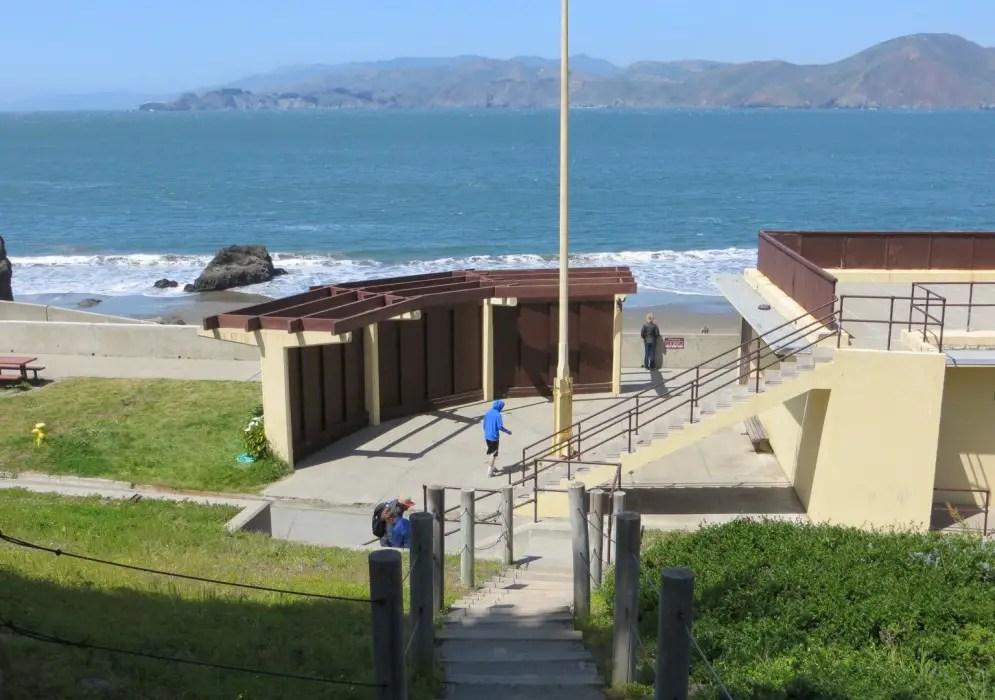 China Beach San Francisco CA  California Beaches