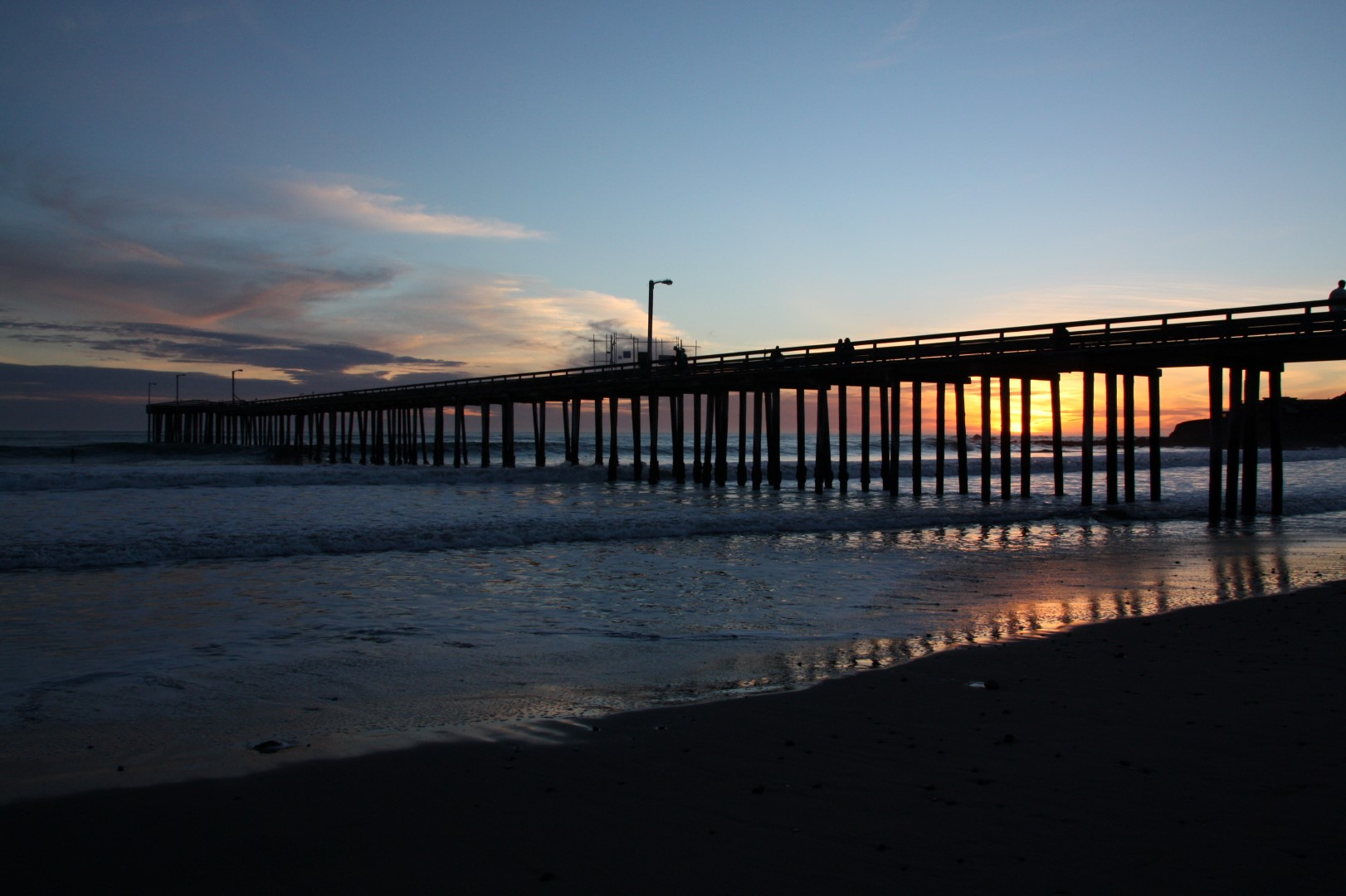 Image result for old wooden piers at night