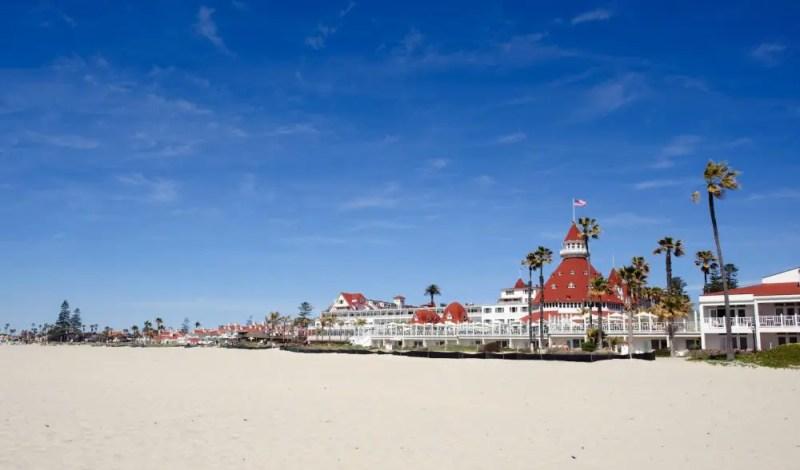 Coronado Beach, Coronado, CA - California Beaches