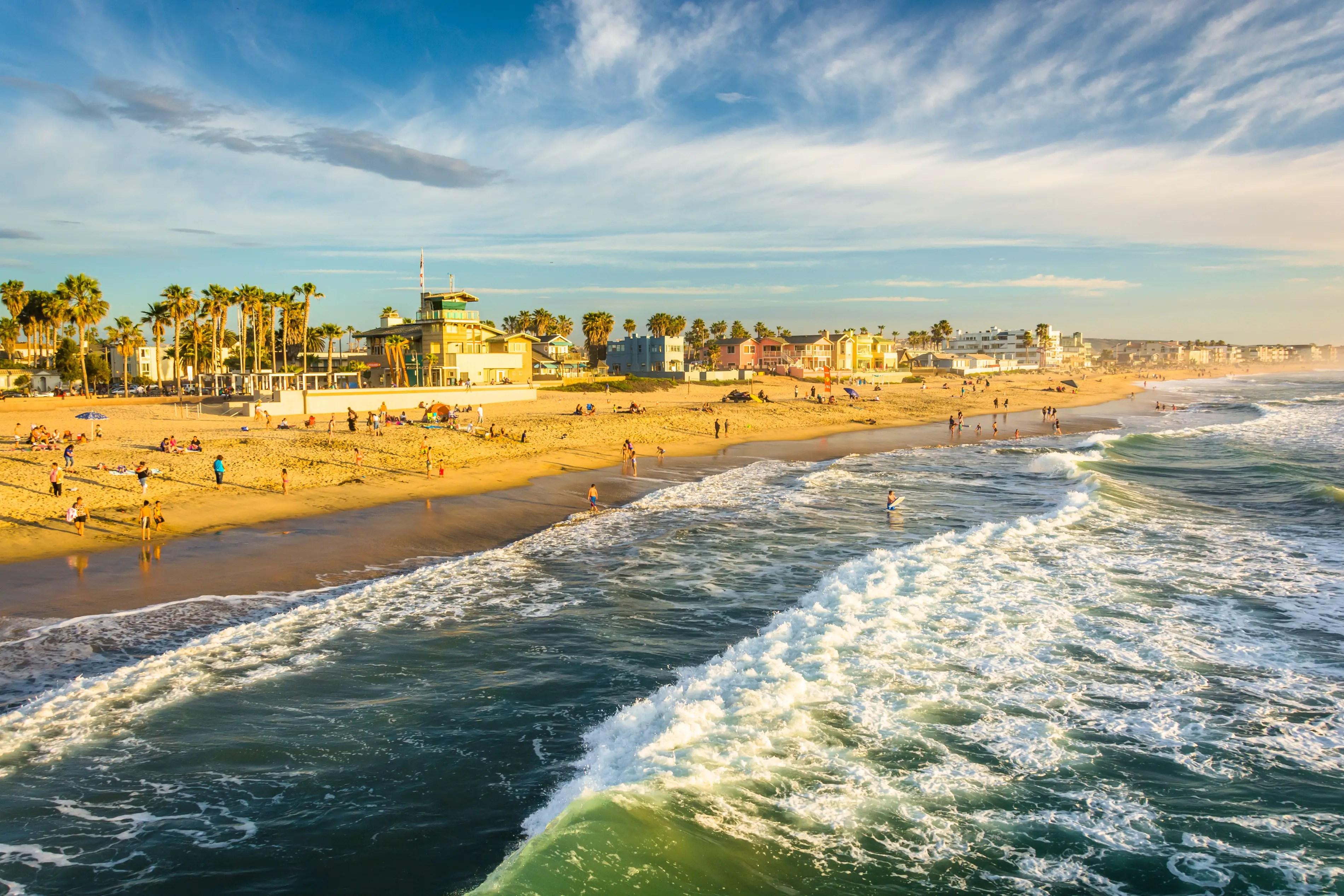 South Imperial Beach Imperial Beach CA California Beaches