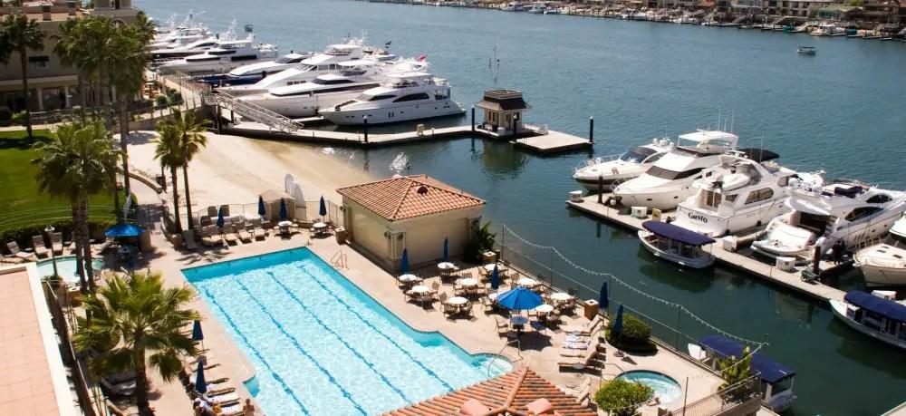 Balboa Bay Resort Newport Beach CA California Beaches