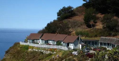 Lucia Lodge Big Sur CA  California Beaches