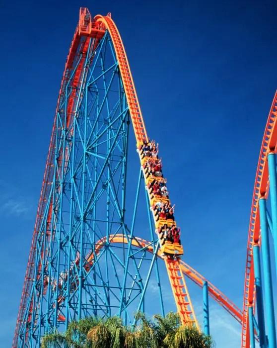 Submit queue time crowd calendar statistics. Six Flags Magic Mountain Valencia Ca California Beaches