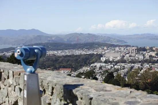 Twin Peaks Viewpoint San Francisco Ca California Beaches