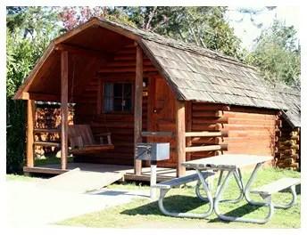 Santa CruzMonterey Bay KOA Campground  Cabins