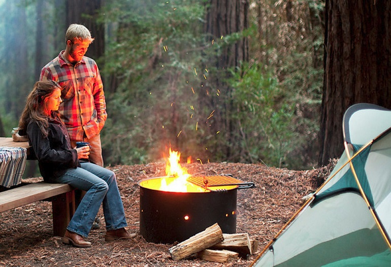 Ventana Campground Big Sur CA  California Beaches