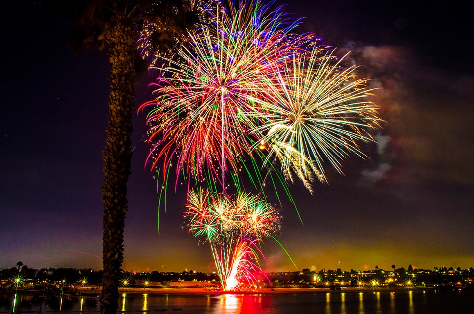 Where To Watch Fireworks On The California Coast