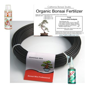 Bonsai Supplies