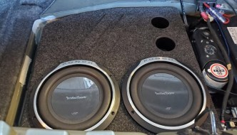 Charger Subwoofer