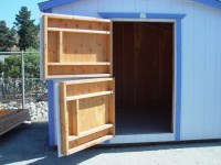 California Custom Sheds - Dutch Door Options