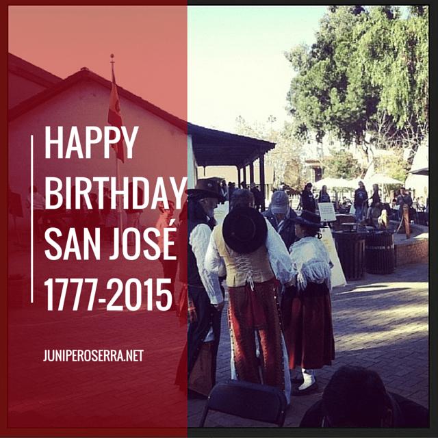 Happy Birthday San José