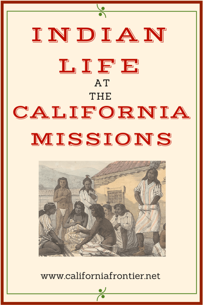 photograph relating to Indians Schedule Printable titled Indian Lifetime at the California Missions