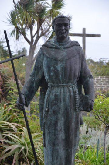Serra Statue at Mission San Carlos Borromeo (Carmel)
