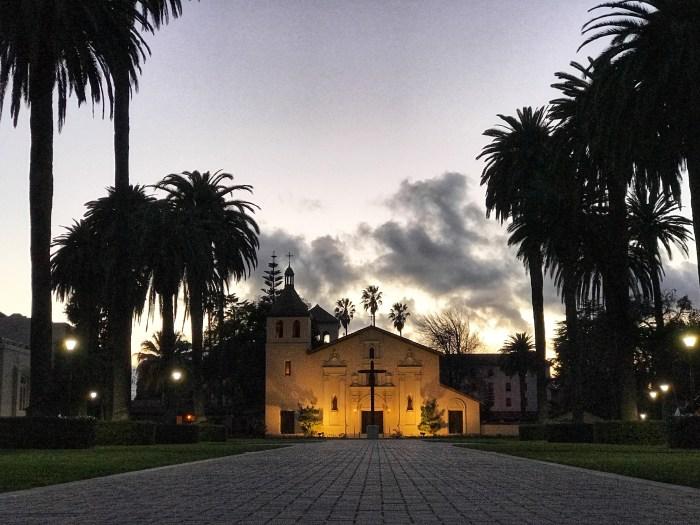 Mission Santa Clara de Asís. Photo by Damian Bacich/CaliforniaFrontier.net.