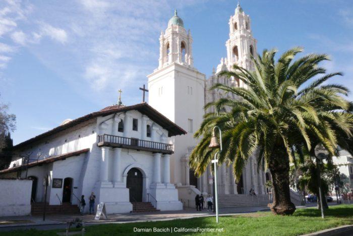 Mission San Francisco de Asís (Mission Dolores). Photo by Damian Bacich/CaliforniaFrontier.net