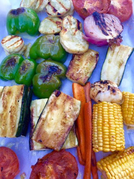 veggies grilled