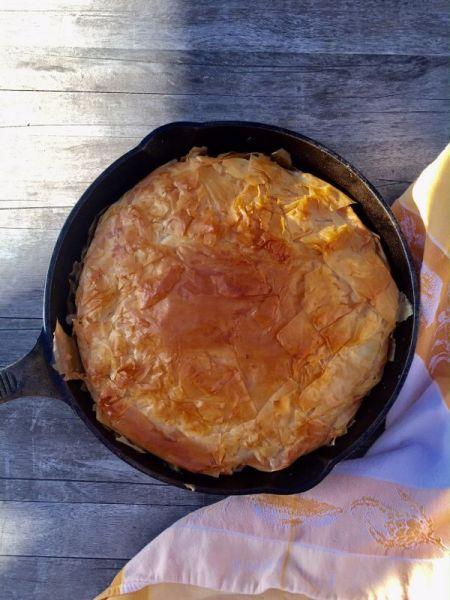 tarte tartin persimmon